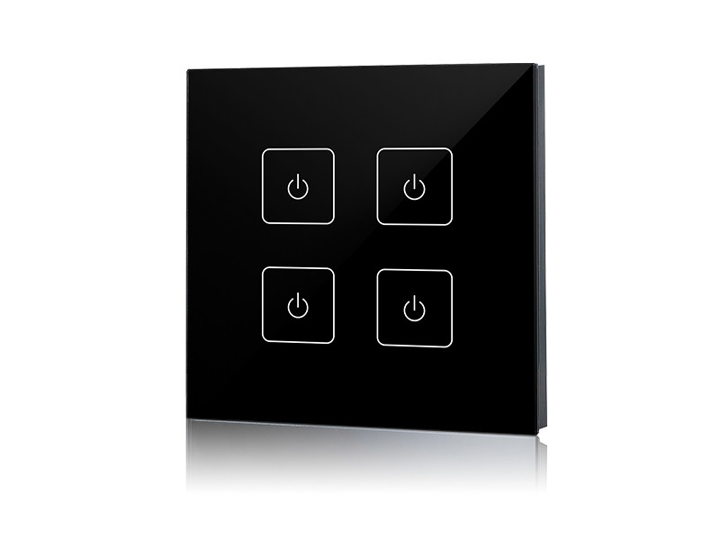 sr 2833t2 black_1 rf&wifi led touch pad dimmer sr 2833t2 control4 dimmer wiring diagram at bayanpartner.co
