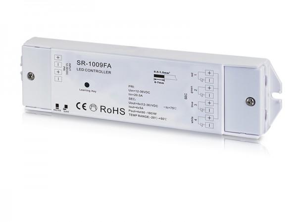 5A 4CH 12-36V Constant Voltage RF LED Strip Dimmer Controller SR-1009FA
