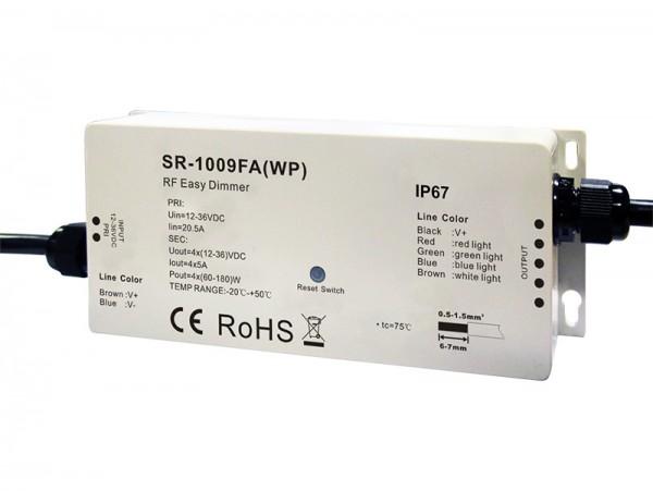 Waterproof RF RGBW LED Controller SR-1009FAWP