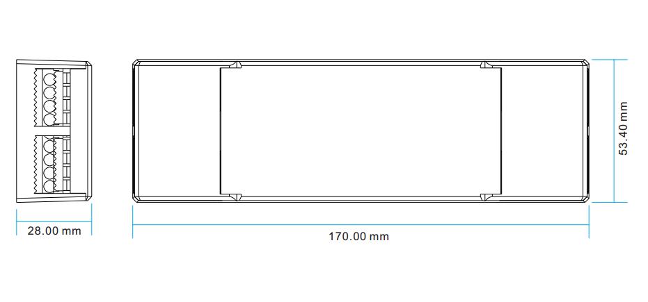 constant voltage 4 channels dmx  u0026 rdm controller with master  u0026 decoder modes sr