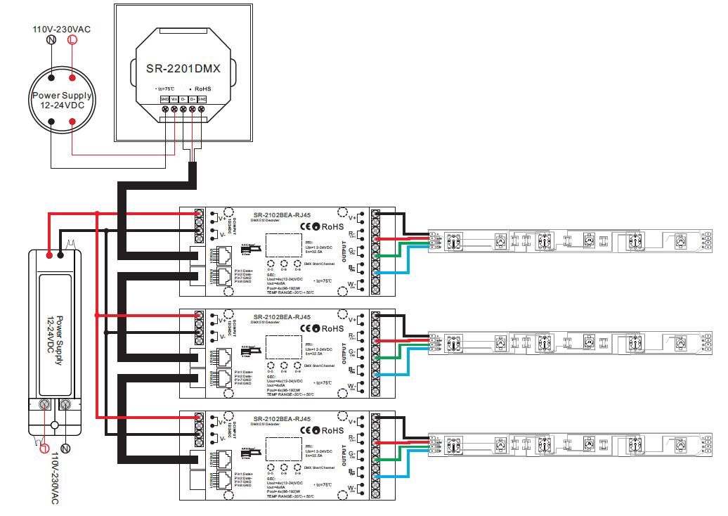 dmx512 cdw dimmer master sr-2201 dmx512 wiring diagram e bike controller wiring diagram