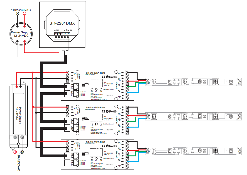 Dmx512 cdw dimmer master sr 2201 wiring diagram cheapraybanclubmaster Gallery
