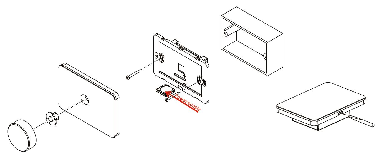 rotary knob rf rgb led controller sr