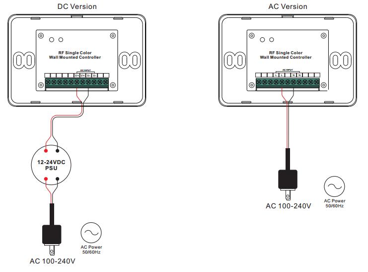 rf u0026wifi full touch rgb led strip controller sr