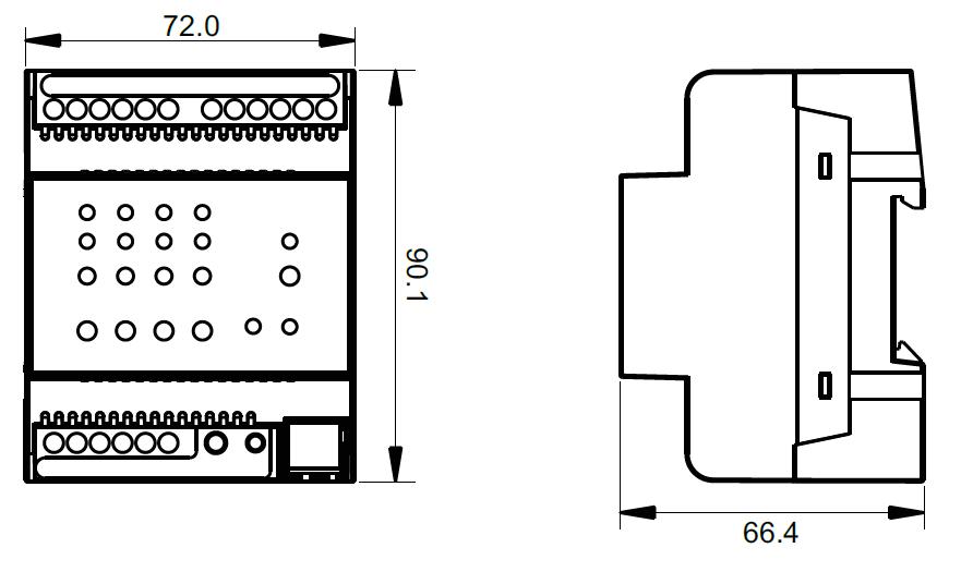 constant current knx dimmer sr knx9501fa3. Black Bedroom Furniture Sets. Home Design Ideas