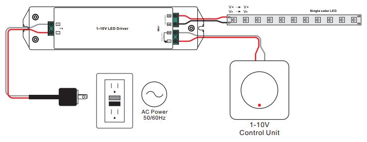 50w constant voltage 0  1