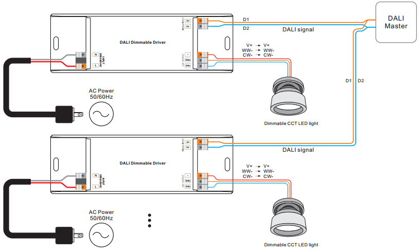Switch wiring power to light