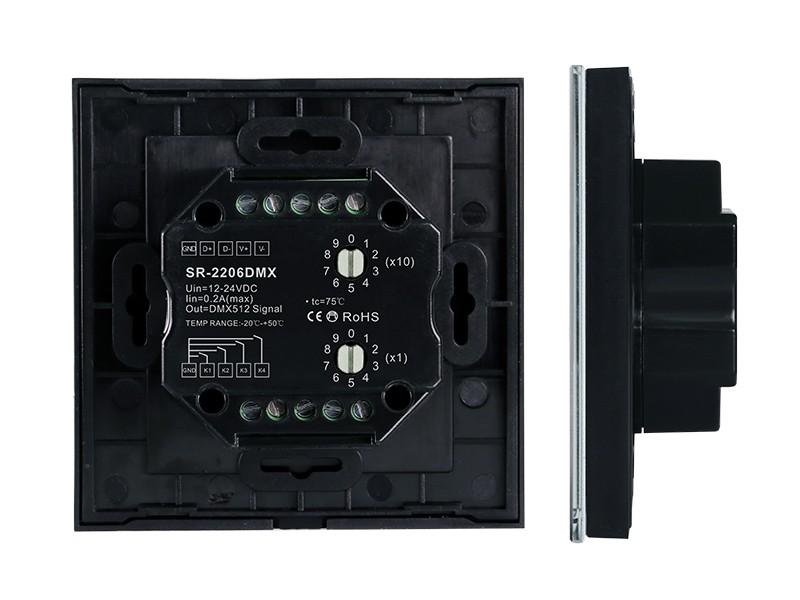 Push Compatible Touch Panel 4 Channels Dmx512 Master Sr