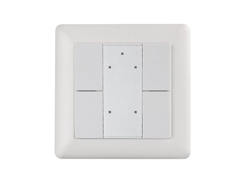 Wall Mounted Push Button Knx Dimmer Switch Sr Kn9551k4