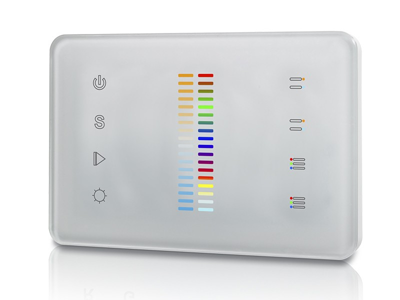 Rgb Amp Dual Color Dmx512 Master Sr 2830cdmx