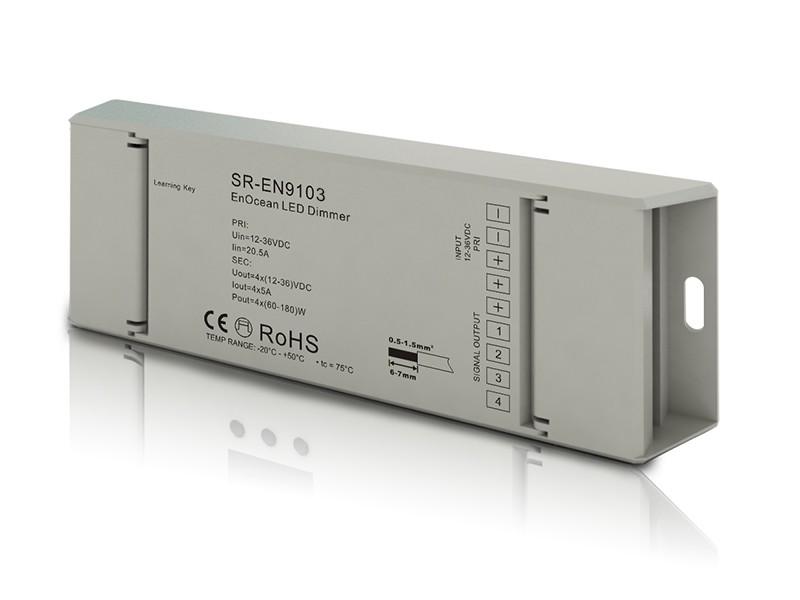 Enocean RGBW LED Controller SR-EN9103 with Remote Push