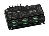 Master Slave Modes Switchable 12 Channel DMX512 & RDM Controller SR-2108B-M12-5