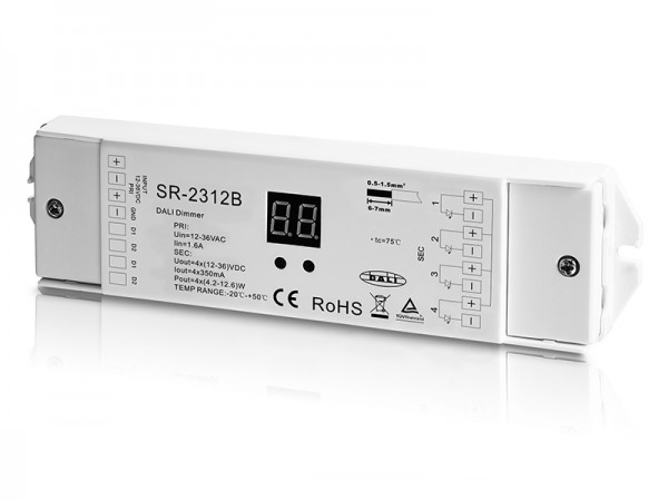Constant Current DALI Dimmer SR-2312B