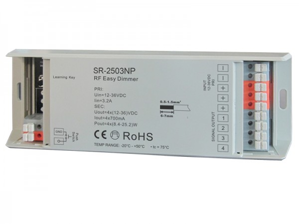 700mA 4CH Constant Current RF Dimmer SR-2503P