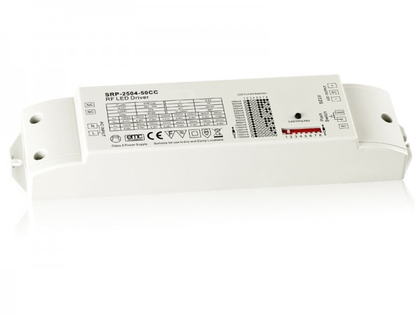 50W Constant Current RF LED Dimmable Driver SRP-2504-50W-CC