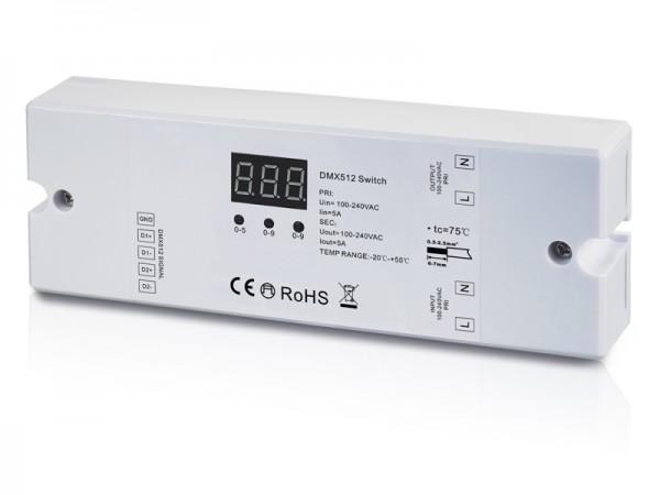 AC DMX512 Switch with Stand Alone Mode SR-2703B