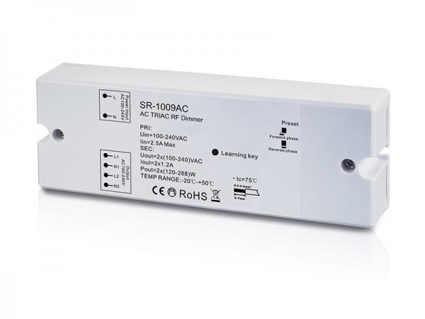 2 Channel AC Triac LED Dimmer Switch With RF Control SR-1009AC