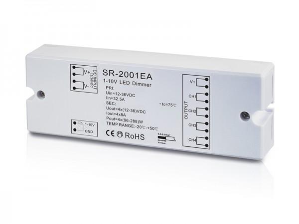 4 Channel Constant Voltage 0/1-10V LED Dimmer SR-2001EA