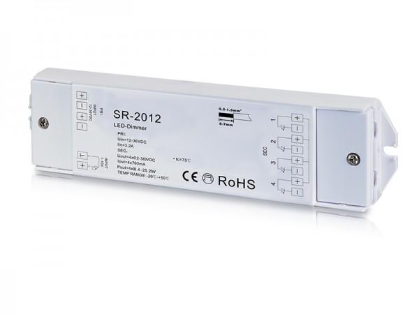 4 Channel Constant Current 0/1-10V Dimmer SR-2012
