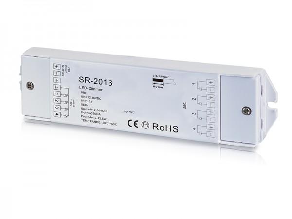 4 Channel Constant Current 0/1-10V LED Dimmer SR-2013