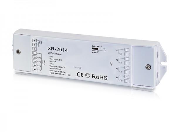 4 Channel 0/1-10V Constant Current Dimmer SR-2014