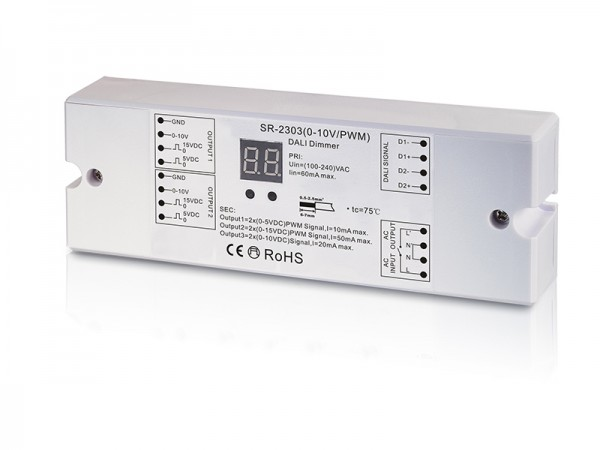 DALI To 0-10V/PWM SR-2303-0-10V-PWM