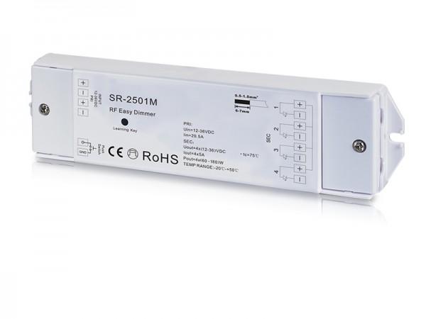 Constant Voltage 4 Channel Dual Color RF Controller SR-2501M