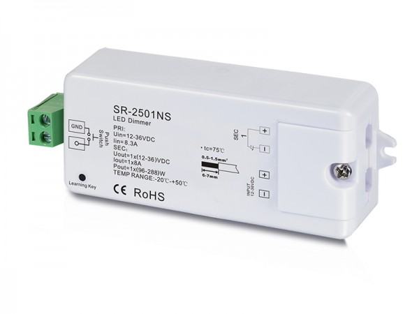 1 Channel Constant Voltage RF Dimmer SR-2501NS