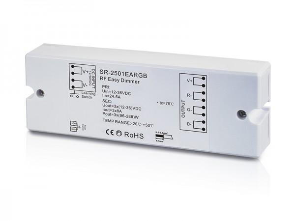 Constant Voltage 3 Channel RF RGB Controller SR-2501EARGB