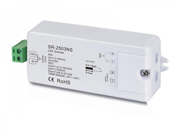 1 Channel Constant Current RF Dimmer SR-2503NS