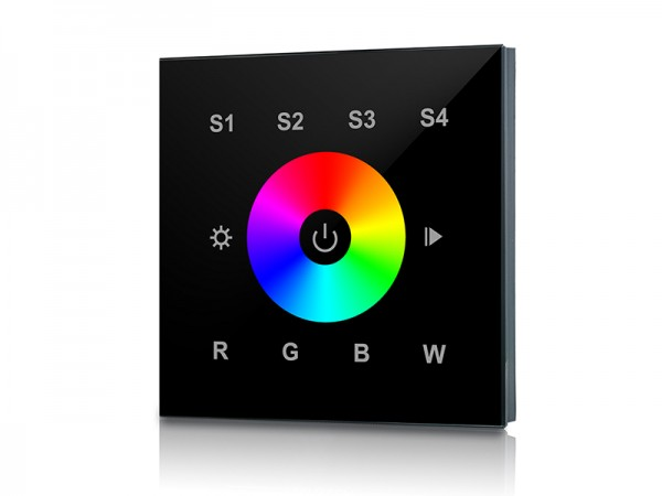 RF&WiFi RGBW Wall Mounted Touch Panel LED Controller SR-2820B
