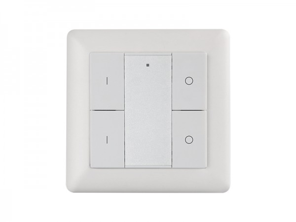 2 Zone Wall Mounted Push Button RF LED Dimmer SR-2853K4-DIM