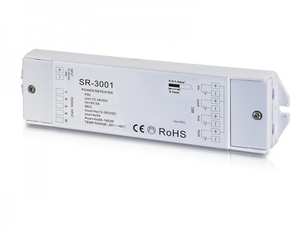 4 Channel Constant Voltage Power Repeater SR-3001
