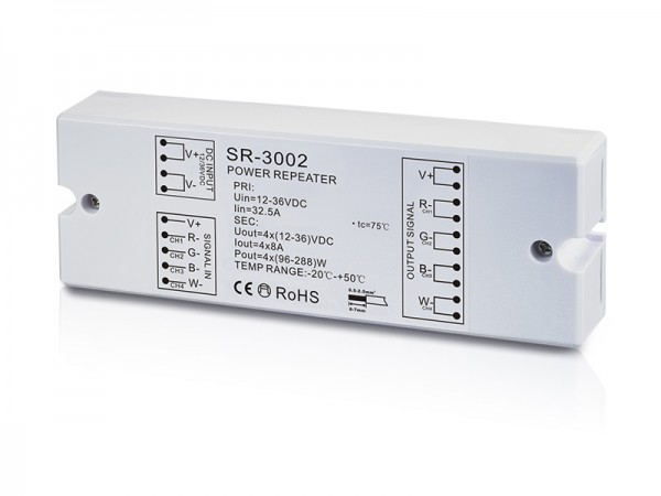 4 Channel Constant Voltage Power Repeater SR-3002
