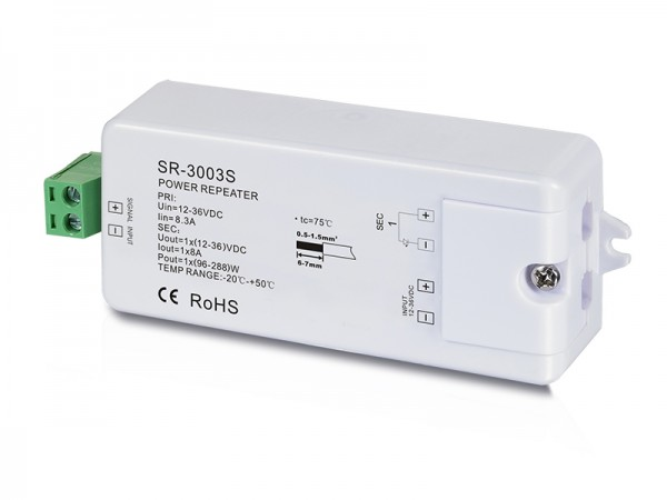 1 Channel Constant Voltage Power Repeater SR-3003S