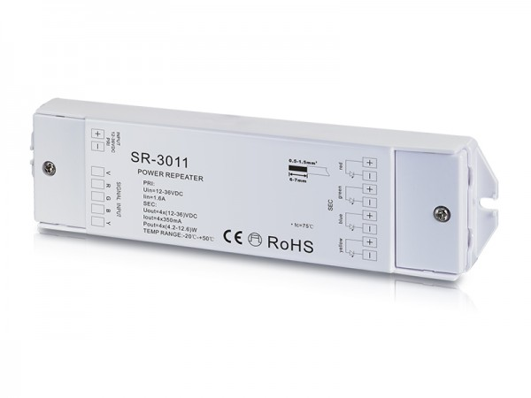 4 Channel Constant Current Power Repeater SR-3011