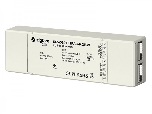 Constant Current 350mA RGBW Zigbee LED Lighting Device SR-ZG9101FA3-RGBW