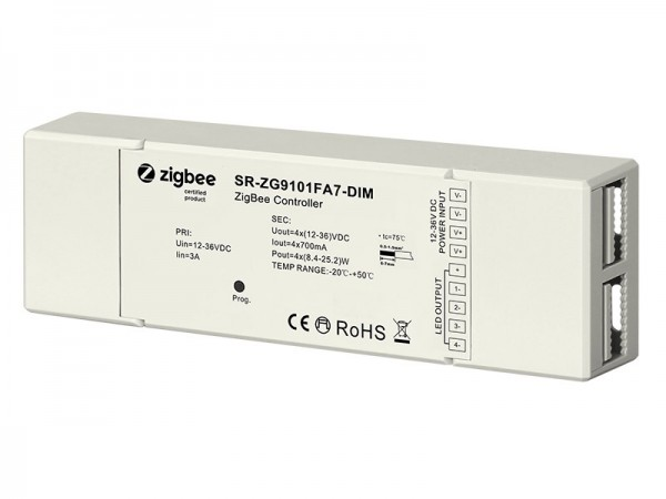 Constant Current 700mA Zigbee LED Dimmer SR-ZG9101FA7-DIM