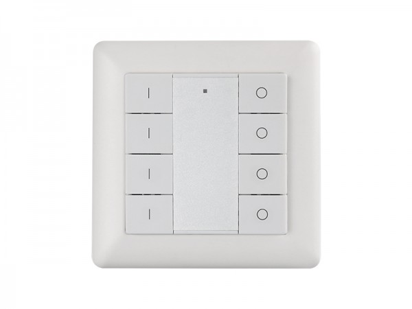 Single Color Wall Mounted 4 Groups Zigbee Push Button