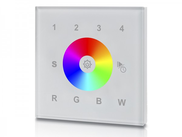4 Groups RGBW ZigBee Touch Remote Controller SR-ZG9001T4-RGBW-EU