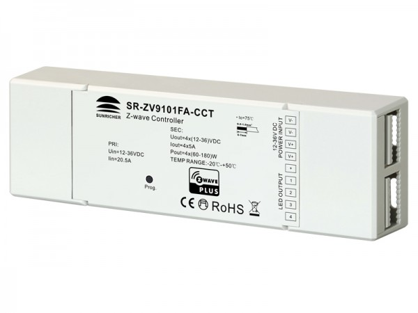 Zwave Dual Color LED Lighting Device SR-ZV9101FA-CCT