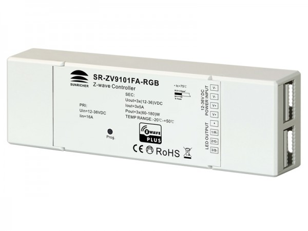 Z-wave RGB LED Lighting Device SR-ZV9101FA-RGB