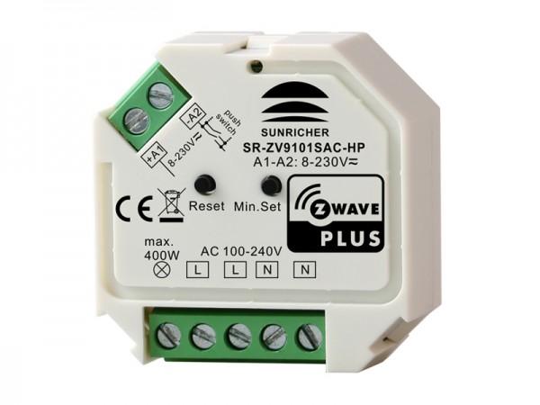 Z-Wave AC Phase-Cut Dimmer SR-ZV9101SAC-HP