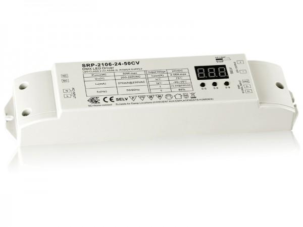 50W Constant Voltage DMX512 LED Driver SRP-2106-50W-CV