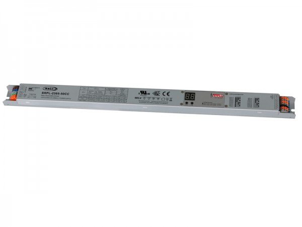 50W Constant Current DALI-2 Certified Long Metal Casing LED Driver SRPL-2305-50CC