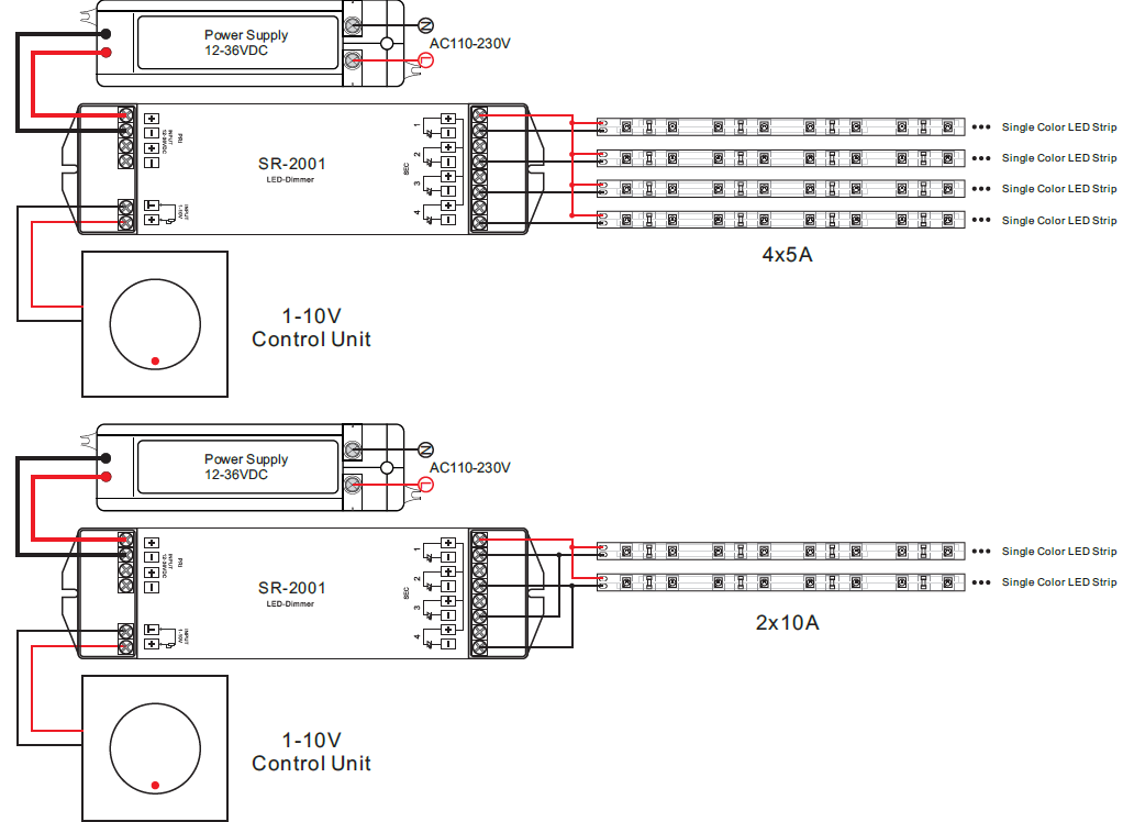 4 Channel Constant Voltage 0  1