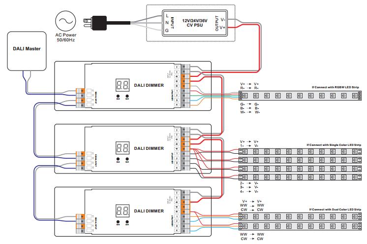 sr 2303p wiring constant voltage dali dimmer sr 2303p