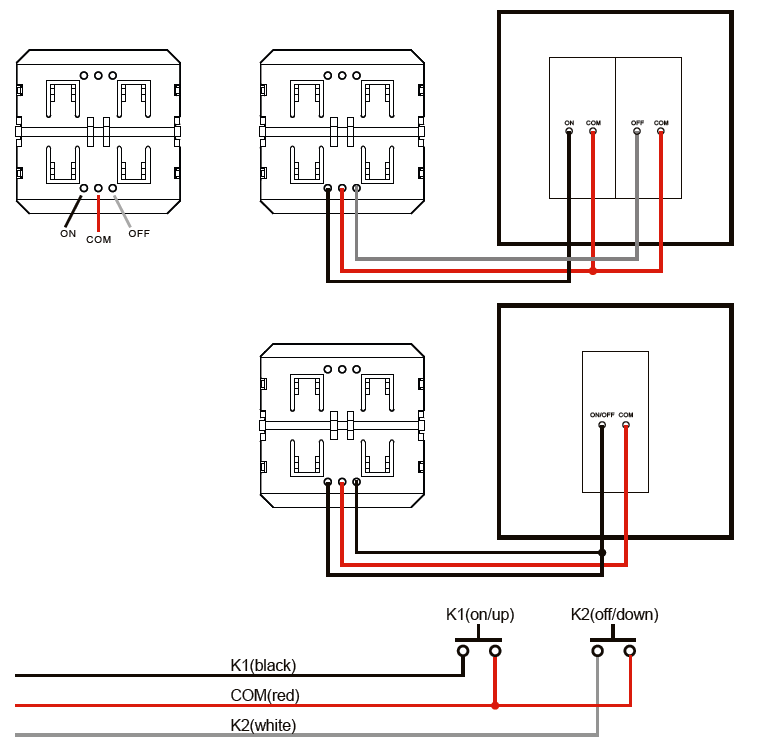 Wiring Diagram with Push Button
