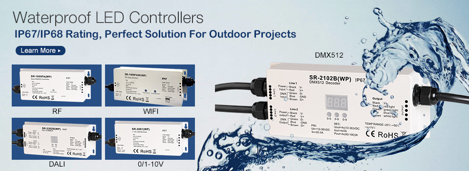 Waterproof LED Controllers