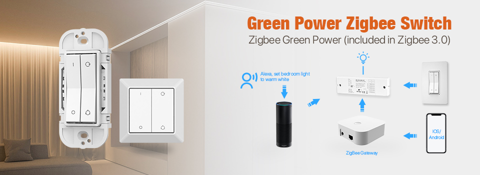 Zigbee Green Power Switch